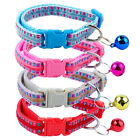 12pcs/lot Bling Small Puppy Pet Dog Cat Collars with Bell Fashion Design