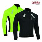 Soft Shell Winter Cycling Jacket Thermal WindProof High Visibility Long Sleeve