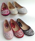NEW Girls Forever Link Larissa39K WEDDING PAGEANT Rhinestone Flats Dress Shoes