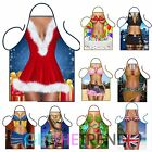 Womens Novelty Funny Cooking Aprons Sexy Rude Cartoon Kitchen Apron Gift Idea