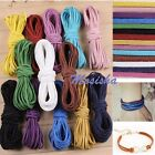 2mm Faux Leather Cord Soft Suede Lace Colorful DIY Bracelet Necklace Hot Gift