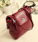 New Women's Handbag Messenger Bag Shoulder Bags Zipper PU Leather Satchel Purses