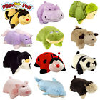Set of 4 Pillow Pets Pee-Wees Stuffed Animal Plush Kids Bedtime Nap Toys Mini