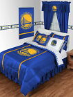 Golden State Warriors Comforter Sham Bedskirt Curtains Valance Twin to King Size