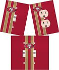 San Fransisco 49ers light switch wall plate custom covers man cave room decor