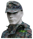 GERMAN ARMY BUNDESWEHR FIELD HAT CAP in FLECKTARN CAMO