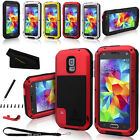 Aluminum Metal Gorilla Shock Waterproof Case Cover for Samsung Galaxy S5 I9600