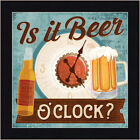 Is it Beer Oclock Mollie B 12x12 Beer Time Bar Sign Framed Art Print Picture