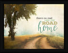 The Road Home Marla Rae 18x24 Landscape Dirt Road Framed Art Print Picture