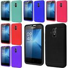 For Coolpad Rogue Ultra Slim Rugged Silicone Soft Rubber Matte Case Skin Cover