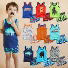"Vaenait Baby Clothes Toddler Boy Boxer Underwear Undershirt  ""Pattern set"" 2T-8T"