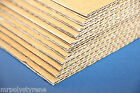 CORRUGATED BOARD CARDBOARD SHEETS BROWN DOUBLE ONLY OFFCUT 600 X 400MM