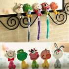 NEW Powerful suction Wall Hanger Bathroom Cartoon Silicone Toothbrush Holder 272