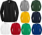 MEN'S MOCK TURTLENECK, LONG SLEEVE HEAVYWEIGHT PRESHRUNK COTTON, S-L XL 2X 3X 4X