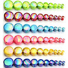 4-20mm Flesh Tunnel Acryl Tupfen Ohr Expander Plug Tube Piercing