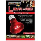 REPTILEPRO LUNAR-RED BASKING LAMP for REPTILE VIVARIUM TERRARIUM 50W/75W/100W