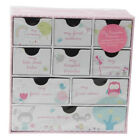 BABY GIRL PINK KEEPSAKE BOX CHRISTENING GIFT BIRTHDAY MEMORY STORAGE DRAWER BOOK