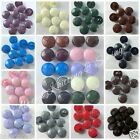 5 leather look football coat jacket buttons red blue green cream lilac black15mm