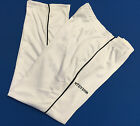 Stevens Mens White Micro Soft Mesh Bowls Sports Trousers