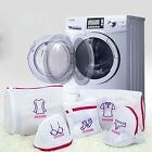 Zipped Underwear Clothes Aid Bra Socks Laundry Washing Machine Net Mesh Bags New