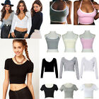 New Sexy Women Shirts Crops Tops Mini Short Blouse Tops Casual Ladies Tee Shirt