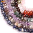 Freeform Natural  8-10x10-12mm Nugget Stone Loose Beads For Jewelry Making 15""