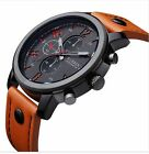 Kyпить Fashion Curren Men's Leather Stainless Steel Sport Analog Quartz Wrist Watch на еВаy.соm