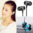 Universal Mp3 Phone 3.5mm Bass Stereo In-Ear Metal Earbud Earphone Headphone