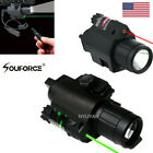 US Green/RED Laser Sight &CREE LED Flashlight &Remote Swith For Pistol Gun Rifle