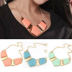 2015 Necklace Womens Retro Bib Statement Necklace Chain Collar Party Jewelry TB
