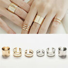 Beautful 3Pcs/Set Fashion Top Of Finger Adjustable Open Ring Jewelry Gift USTB