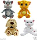 "Talk Back Tom Ben Angela Ginger Talking Friends Soft Plush Toys ""FAST AND FREE!"""