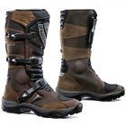 FORMA ADVENTURE BROWN WATERPROOF ATV QUAD TRAIL RIDING MOTORCYCLE BOOTS