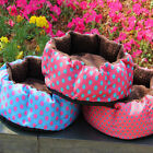 Pet Dog Puppy Cat Kitten Plush Fleece Bed Soft Cushion Nest Pad House Mat ys