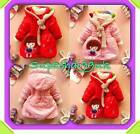 Baby Girls Winter Bubble Coat Hooded Jacket Cartoon Snowsuit Outwear Padded