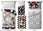 KIDS DISNEY MINNIE MOUSE BLACK & WHITE BED IN A BAG / COM...