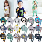 """50Styles"" Vaenait Baby Infant Toddler Boys Clothes Sleepwear Pyjama Set 12M-7T"