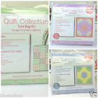 The Quilt collection 100% cotton quilting kits including tote bag & small quilts