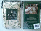 NEW RALPH LAUREN DESERT PLAINS PERENNIAL beige green leaf flora EURO PILLOW SHAM