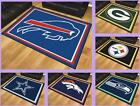 NFL Licensed 8'X10' Area Rug Floor Mat Carpet Flooring Man Cave - Choose Team