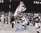 GARY COLLINS CLEVELAND BROWNS ACTION SIGNED 8x10
