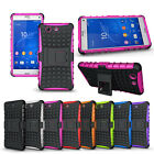 Hybrid Protect Hard & Soft Case Cover For Sony Xperiz Z3 Mini Compact Phone