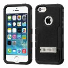 Shockproof Protective TUFF Hybrid Stand Phone Case Cover For iPhone 5S SE 5