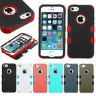 For APPLE iPhone 5/5S SE Shockproof Protective TUFF Hybrid Phone Case Cover