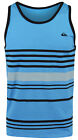 Quiksilver Youngblood Tank Top (Aqua/Black/Gray)
