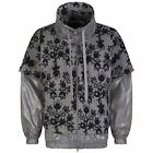 ADIDAS STELLA MCCARTNEY WOMEN'S WINTERSPORTS PRINT FLEECE JACKET XS S