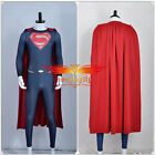 Film Batman v Superman Dawn of Justice Clark Kent Cosplay Costume Cape Custom