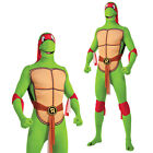 Adults Raphael Rubies Teenage Mutant Ninja Turtles Costume 2nd Skin Fancy Dress