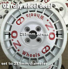 Rally wheel decal sticker to restore or fit OZ RACING Sparco classic X4