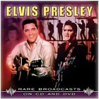 ELVIS PRESLEY - RARE BROADCASTS - 17 TRACK DVD & CD - FREE POST IN UK
